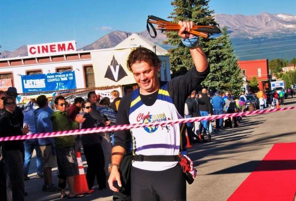 Bastones trail running: Meta Leadville 100 Miles con Ferrino Eiger.